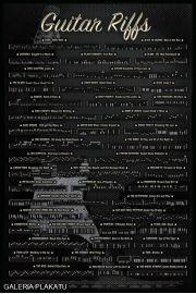 Riffy Gitarowe - plakat