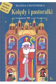 Kolędy i pastorałki. Książka + CD - Chotomska Wanda
