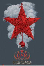Guns N' Roses Chinese Democracy - plakat