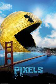 Pixels Pacman - plakat