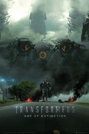 Transformers 4 Wiek zagłady Imax - plakat