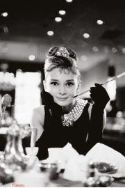 Audrey Hepburn - Śniadanie u Tiffanego - plakat