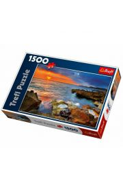 Puzzle 1500 wybrzeże Hiszpanii