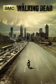 The Walking Dead Wymarłe Miasto - plakat