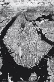 Nowy Jork Manhattan Krikko - plakat