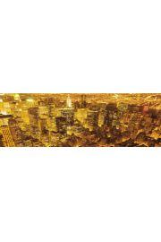 Nowy Jork Światła Nocą - plakat
