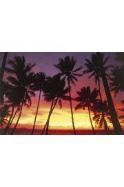 Mikronezja - Zachód Słońca nad Pacyfikiem - plakat