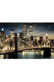 Nowy Jork Światła Manhattanu - plakat