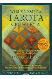 Wielka księga Tarota Crowley (książka i karty)
