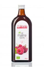 Sok Malinowy 100% Bio 500 Ml - Polska Aronia