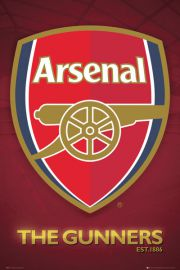 Arsenal Londyn - The Gunners - Godło Klubu - plakat