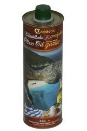 Oliwa z oliwek z dodatkiem czosnku 500ml
