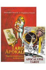 """Zestaw """"Tarot Apokalipsy"""", karty i książka"""