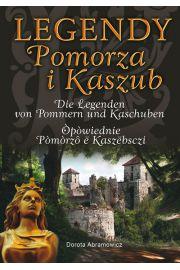 Legendy Pomorza i Kaszub wersja trójjęzyczna