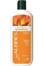 Aubrey Organics, Island Naturals Szampon do włosów suchych i puszących się, 325 ml