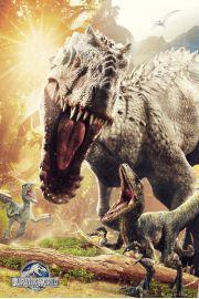 Jurassic World Jurajski Park Atak - plakat