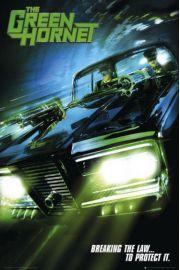 The Green Hornet teaser - plakat