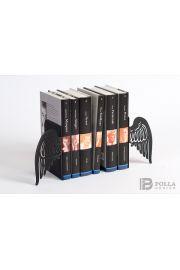 Podpórka do książek Skrzydła Anioła (czarna z brokatem)