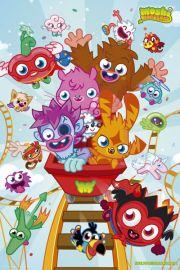 Moshi Monsters Rollercoaster - plakat
