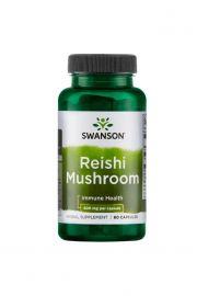Swanson Reishi Mushroom 600mg 60 kaps.