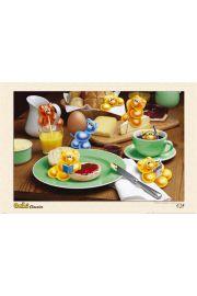 Żelkowe Śniadanie - plakat