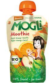 Moothie - Przecier Jab�kowy Z Pomara�cz� I Marchewk� 100% Owoc�w Bez Dodatku Cukr�w Bio 100 G - Mogli