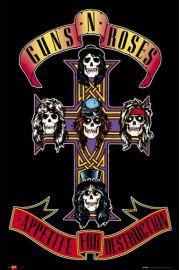 Guns N' Roses Appetite - plakat