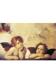Rafael Santi Angels Anio�y Mi�o�ci - plakat