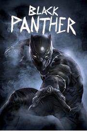 Kapitan Ameryka Wojna Bohater�w Czarna Pantera - plakat