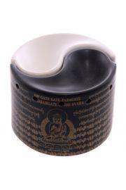 Kominek do aromaterapii w kszta�cie symbolu Yin Yang, 2-cz�ciowy