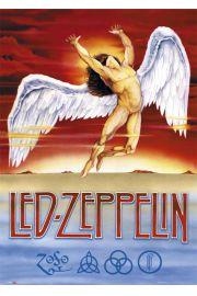 Led Zeppelin Swan Song - plakat
