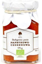 Pasta Paprykowo - Czosnkowa Bio 170 G - Dary Natury