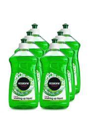 Płyn do Mycia Naczyń limonkowy Ecozone 500 ml - KARTON, 6 szt.