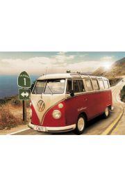 Californian Volkswagen Camper�Route One - plakat