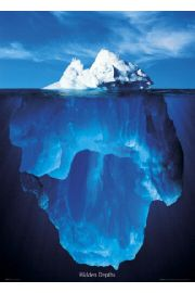 Góra Lodowa Iceberg - plakat