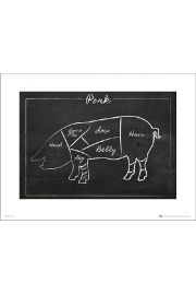 Pork Chalk - art print