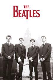 The Beatles Liverpool 1962 - plakat