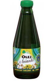 Olej Z Lnianki (Rydzowy) Virgin Bio 300 Ml - Dary Natury