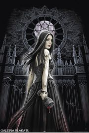 Anne Stokes - gothic siren - plakat