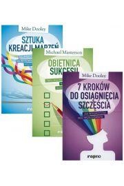 Zestaw 3 książek: Sztuka kreacji marzeń + Obietnica sukcesu + 7 kroków do osiągnięcia szczęścia