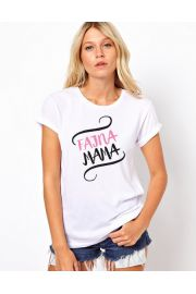 Koszulka damska, rozmiar L - Fajna mama Wzór 2