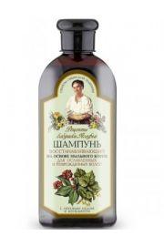 Rewitalizujący szampon Agafii na bazie korzenia mydlanego Przepisy Babci Agafii.