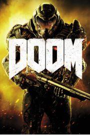 Doom Marine - plakat