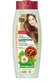 Nat. szampon do wł. Pokrzywowy nawilżenie i objętość FIT Fitocosmetic
