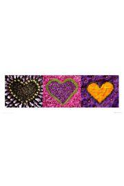 Madalenes hearts Fiolet - reprodukcja