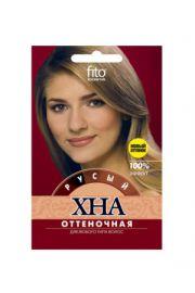 Henna koloryzująca do włosów - blond FIT Fitocosmetic