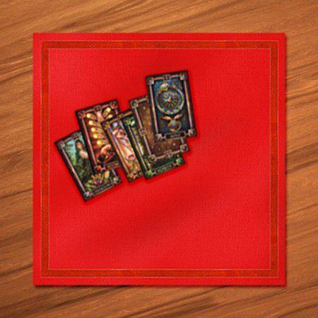 czerwony obrus do wr243żb i magii w czarymarypl