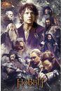 The Hobbit Pustkowie Smauga Kolaż - plakat - Mistyka i fantasy