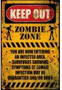 Strefa Zombie - zabawny plakat - Seriale