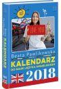 Kalendarz do nauki języka angielskiego na rok 2018 - Kalendarze
